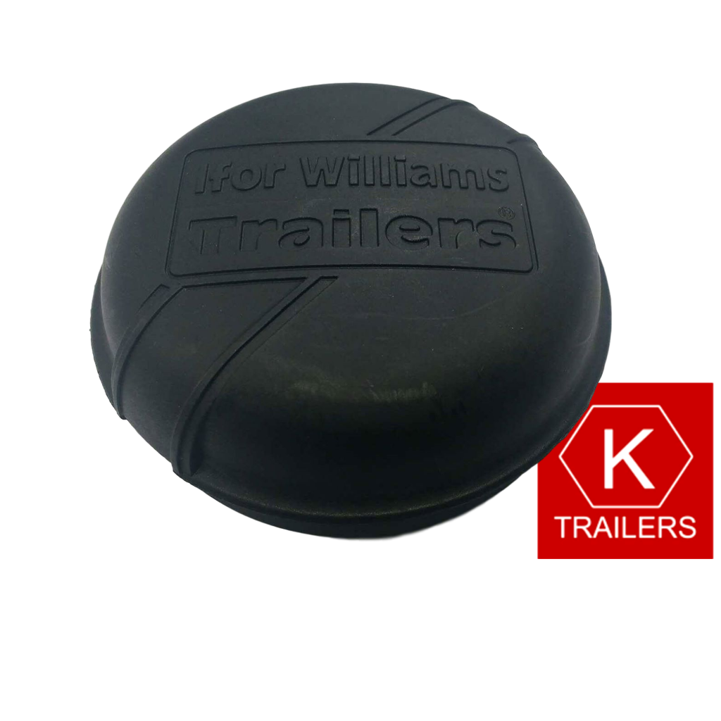 Ifor Williams Black Trailer Hub Cap 75mm